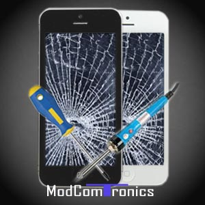 IPhone Reparatur / iPhone 5 Display/Touchscreen/Glas Austausch