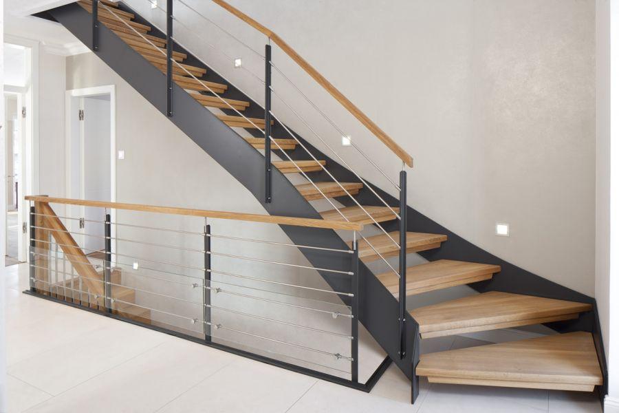 holztreppen nach mass treppen aus polen. Black Bedroom Furniture Sets. Home Design Ideas