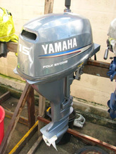 Used Yamaha 20hp 4-Stroke Outboard boat Engine at 1200usd