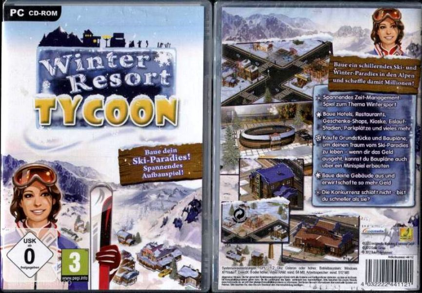 Winter Resort Tycoon für PC !! Neu !!