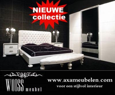 Woiss Möbel Komplett Schlafzimmer Avantgarde Weiß Hochglanz