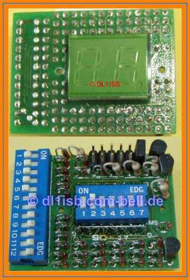 2x 7-Segment LED Display 10.16mm
