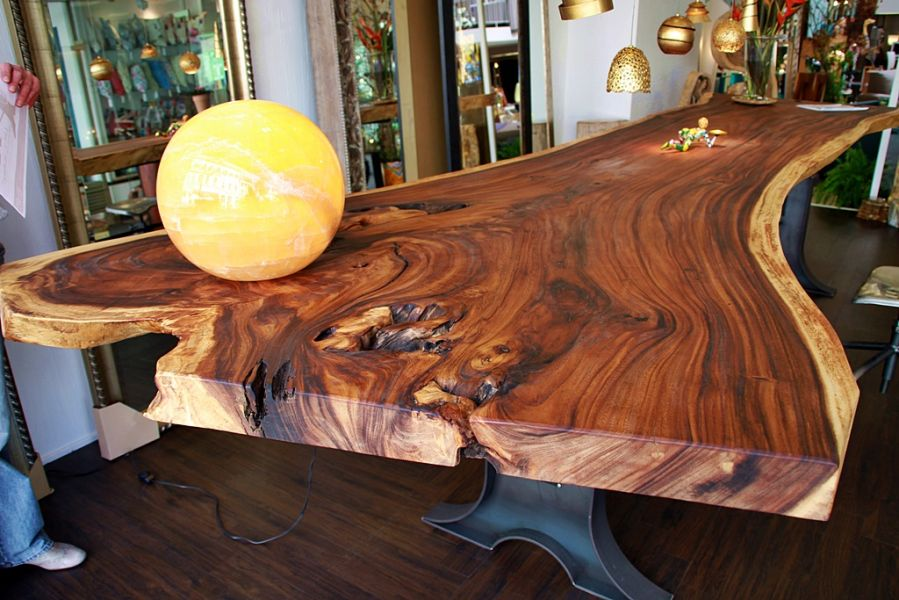 Baumstammtische - Slab Tables bei Secret of Woods 53721 Siegburg