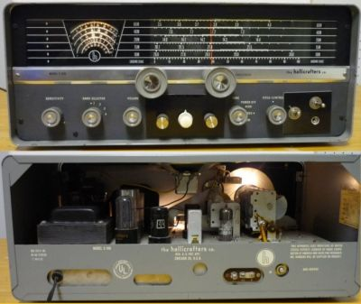 Hallicrafters S-108 (S108) Receiver