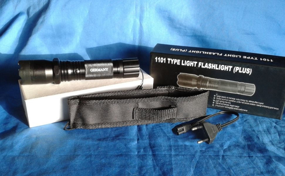 POLICE   ESH + + LED TASCHENLAMPE +  2 in 1 Type 1101 Plus