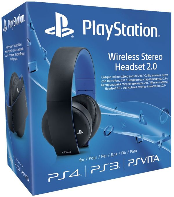 Sony PlayStation 4 Wireless Stereo Headset 2.0 PS4 NEU