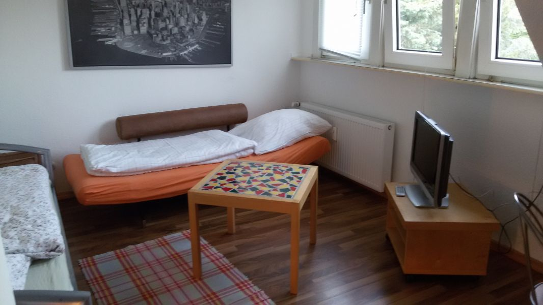1 ZKB Apartment / Messe 12Min, 5Min ab Airport